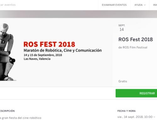 Ya puedes conseguir tu entrada gratuita para el ROS Fest 2018