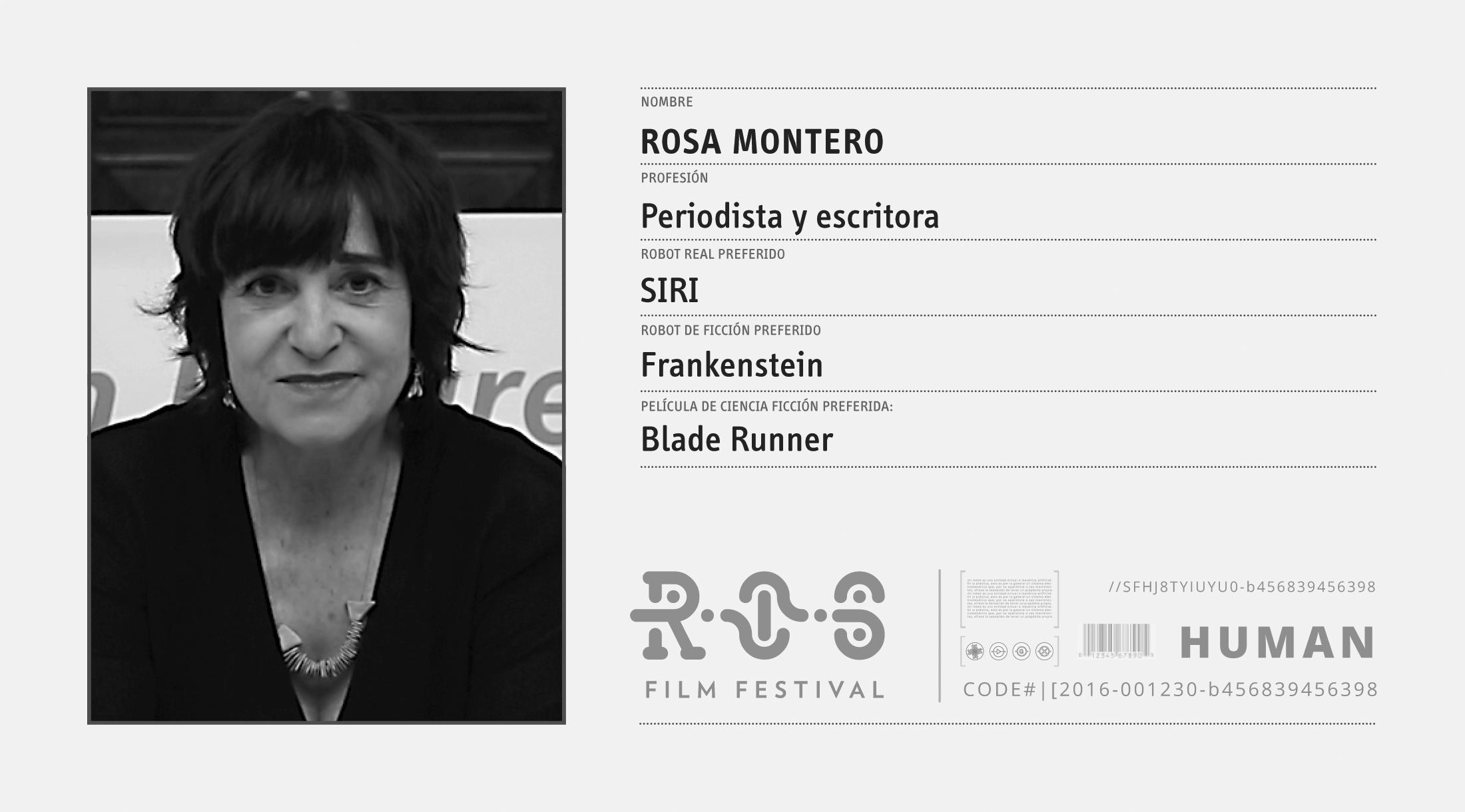 Rosa Montero  HUMAN