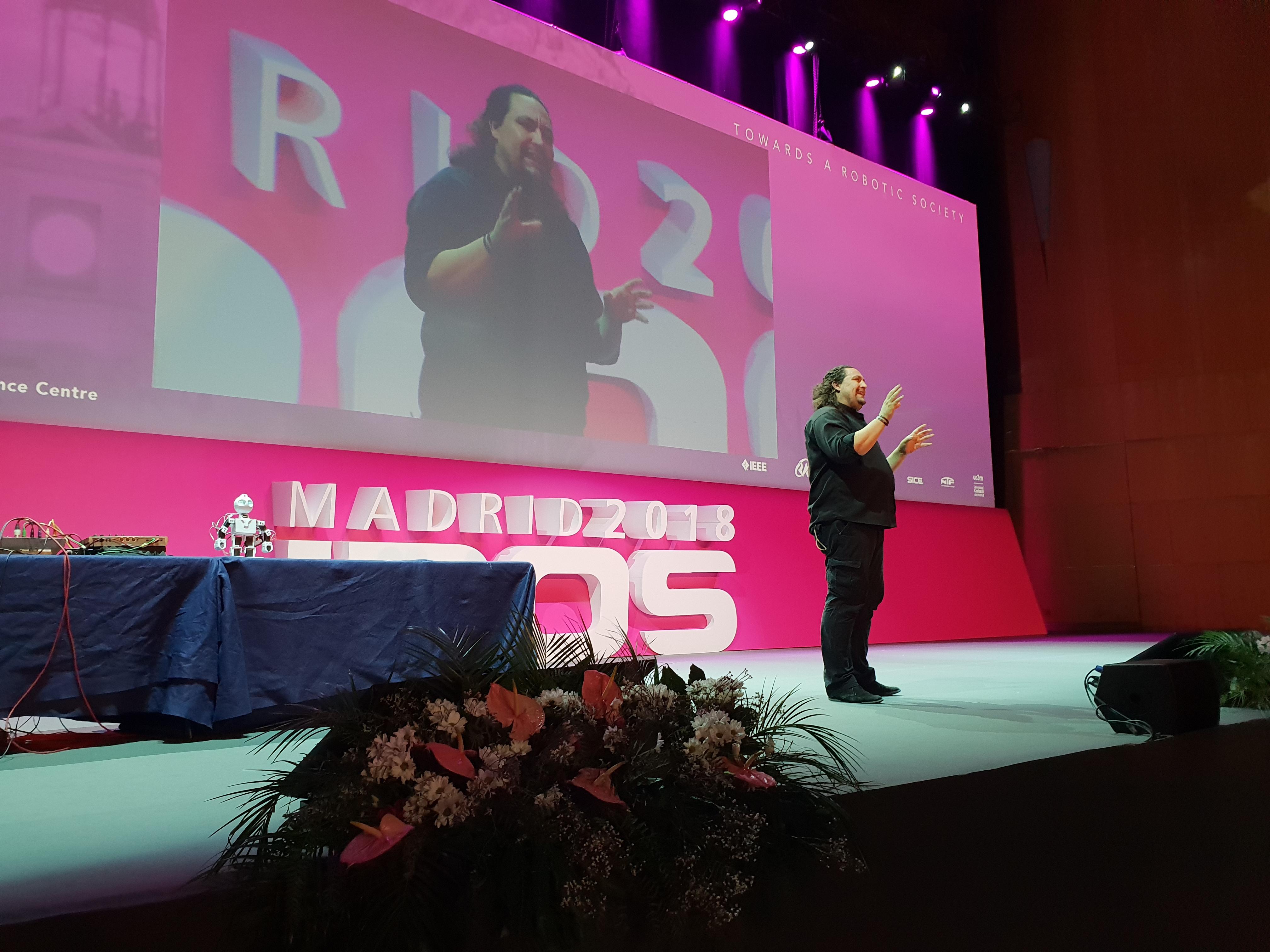 El ROS Film Festival celebró su Gala de entrega de premios dentro del IROS 2018